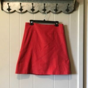 Wool and cashmere A-line skirt, JCrew, 8